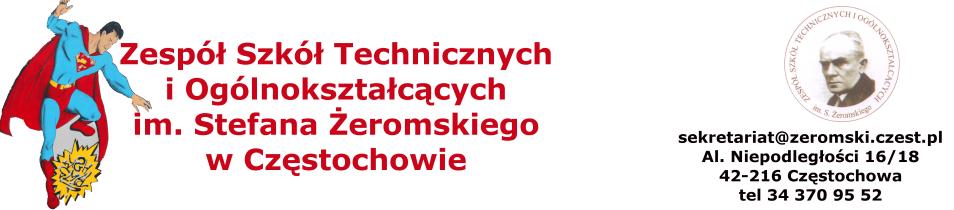 Zespół Szkół Technicznych i Ogólnokształcących im. Stefana Żeromskiego w Częstochowie