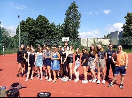 Zdjęcie nr 2 podczas zajęć z doradztwa zawodowego w ramach programu Erasmus+